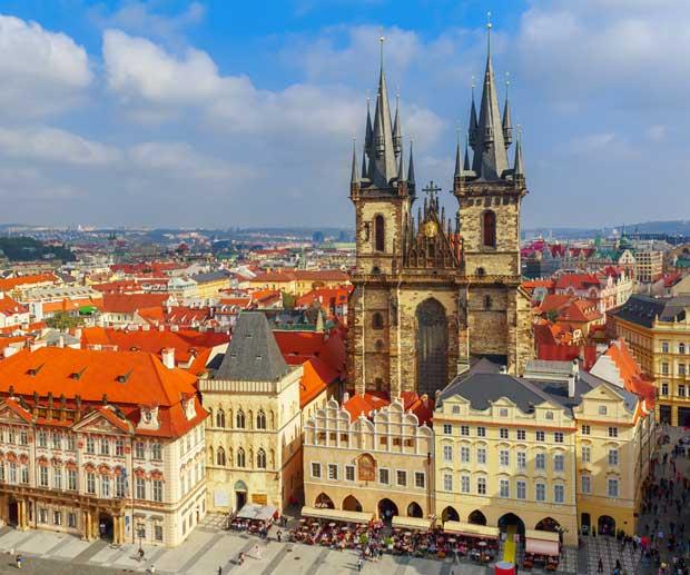zona Old Town Praga