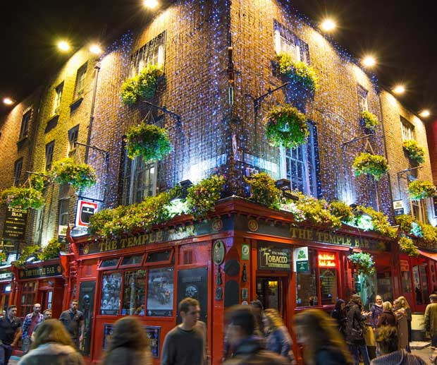 Dublino Zona Temple Bar