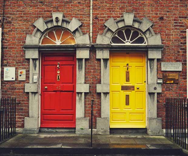 Dublino zona St. Stephen's Green