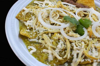piatto tipico messicano