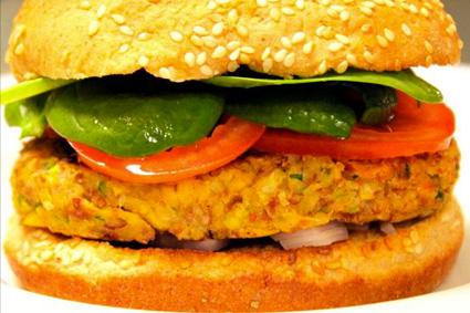 veggie burger squimz messico yucatan