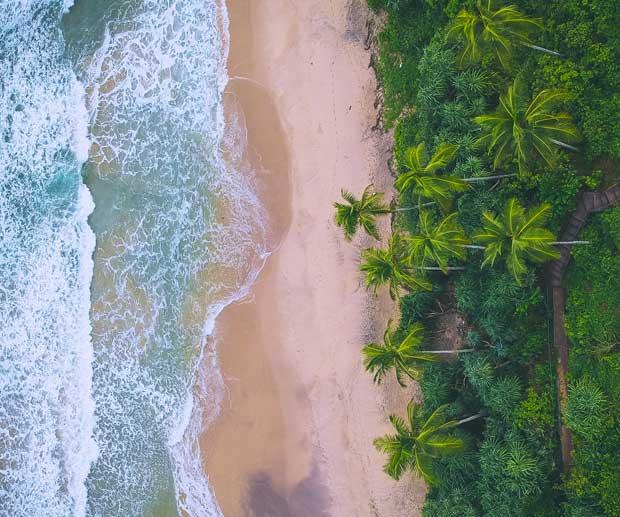 Sri Lanka Mare in inverno