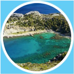 La-spiaggia-di-Anthony-Quinn-Rodi