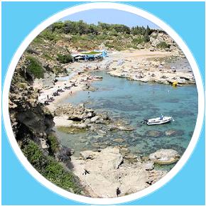 Spiaggia-di-Kalithea-Rodi