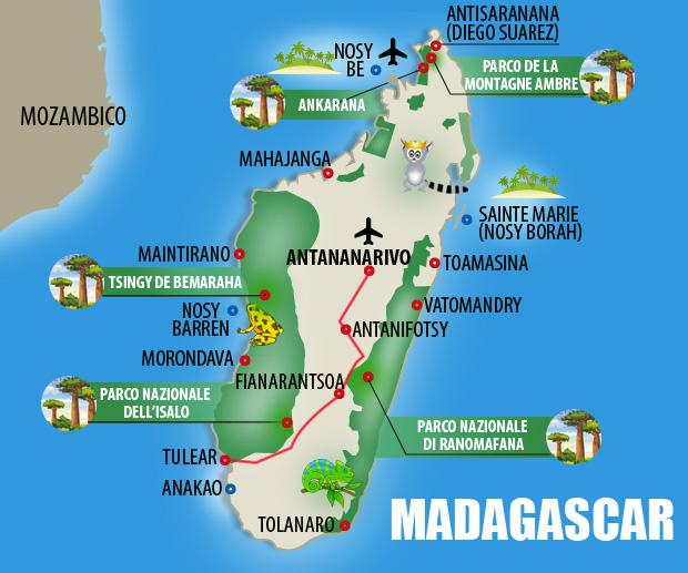 MAPPA-MADAGASCAR