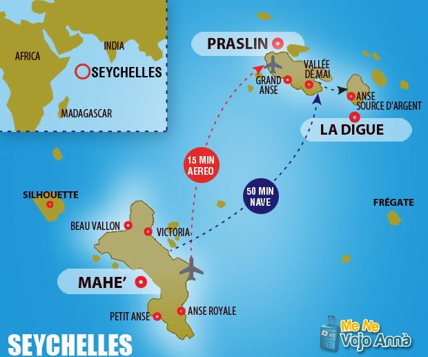 Mappa-Seychelles