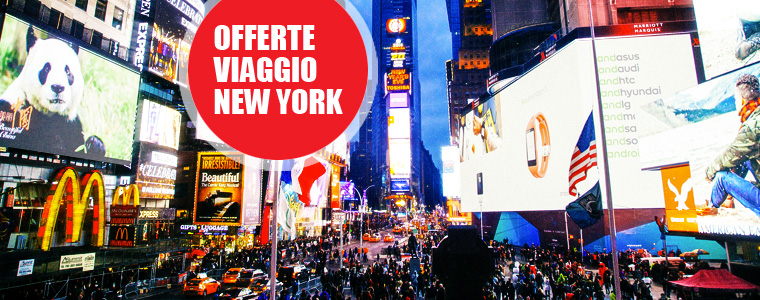 Offerte viaggio new york for Dove alloggiare new york
