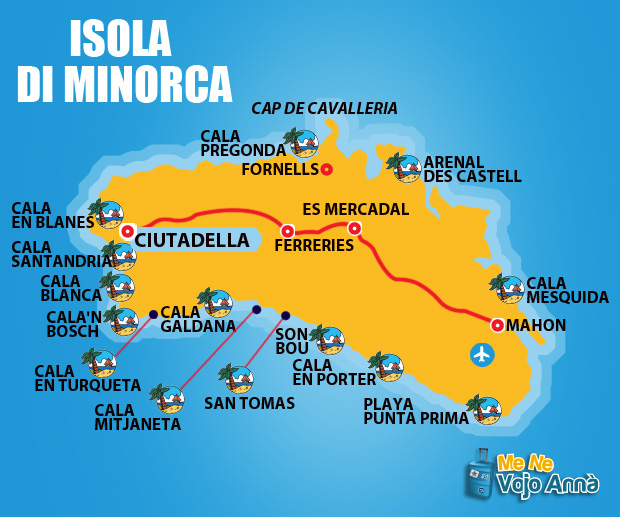 Dove Alloggiare a Minorca: Visitare l\'Isola di Minorca - Menevojoanna.it