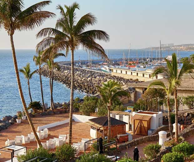 Tenerife zona Los Cristianos