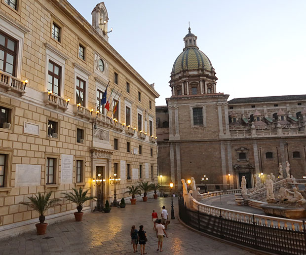 Tour Sicilia Occidentale Palermo Piazza Pretoria