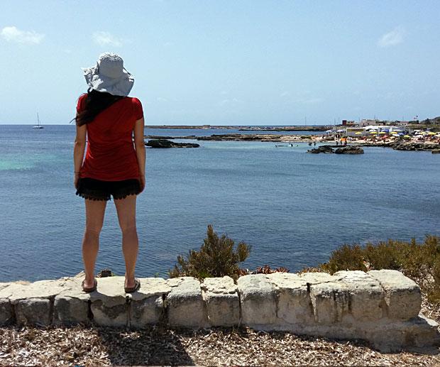 Vacanza Favignana Spiaggia Calamoni