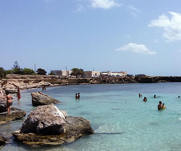 Visitare Favignana Spiaggia Marasolo