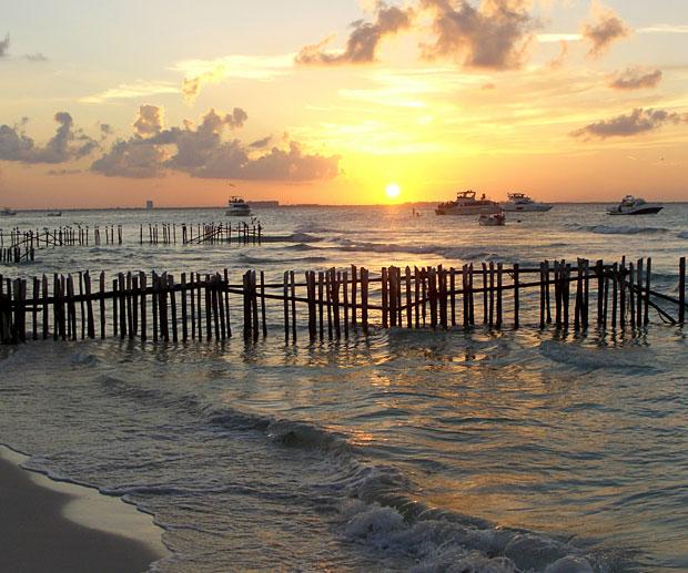 Visitare Isla Mujeres Tramonti