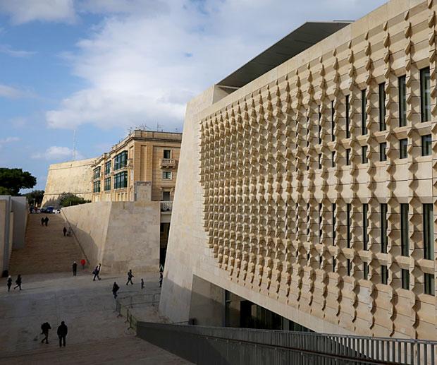 informazioni Viaggio Malta Palazzo Parlamento