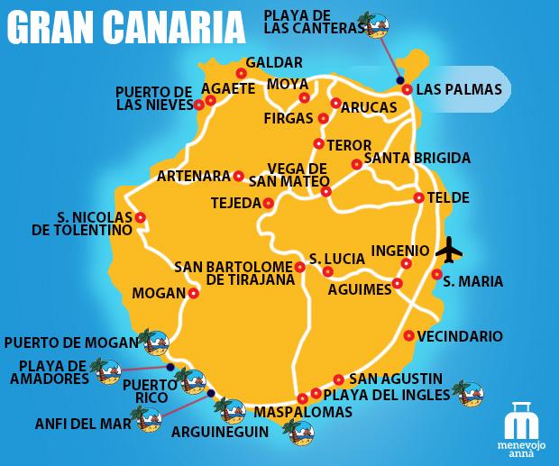 Dove Alloggiare a Gran Canaria: La Zona Giusta per una ...