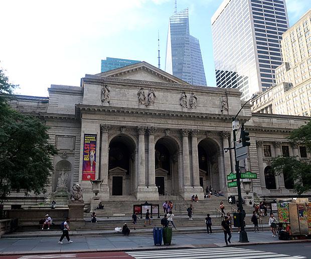 Attrazioni New York Public Library