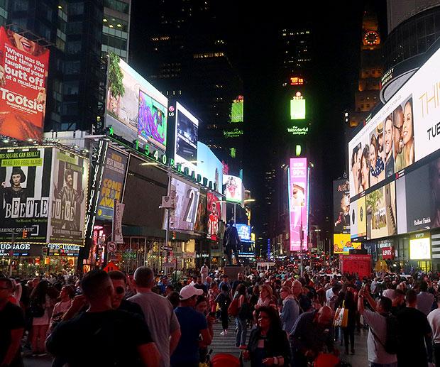 Attrazioni New York Times Square