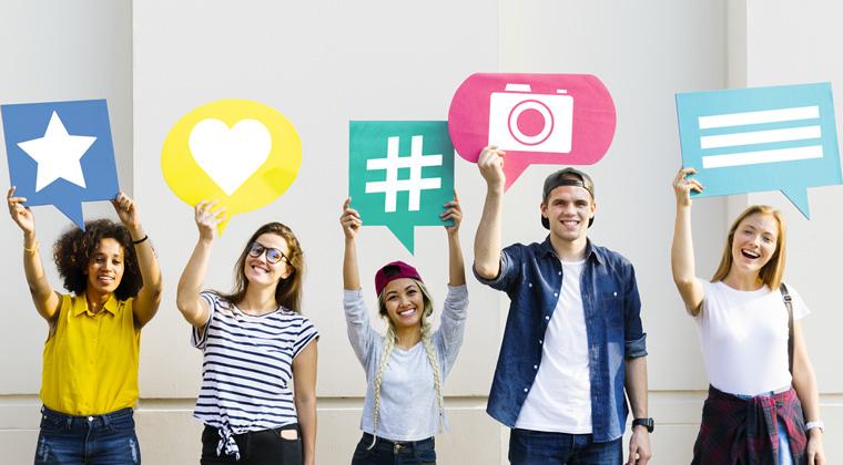 aumentare la visibilità con i social media