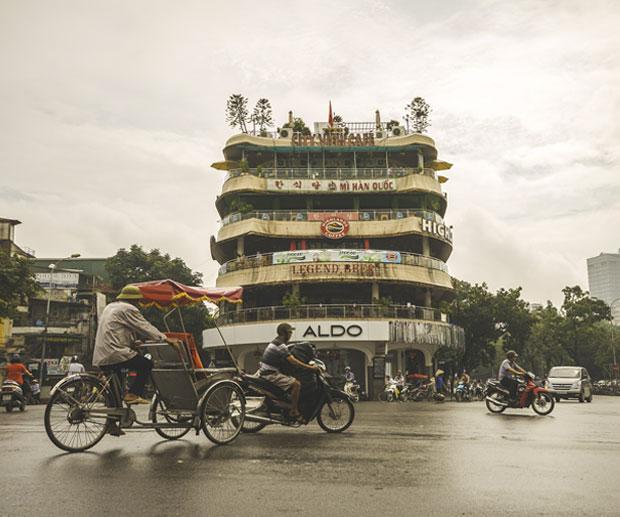 quartieri dove dormire Hanoi