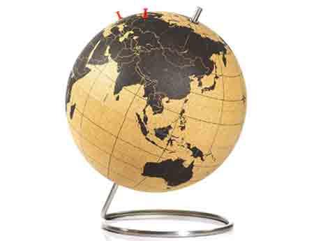 idee regalo viaggi mappa mondo