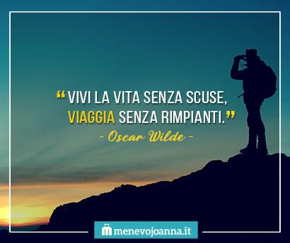 citazioni sui viaggi Oscar Wilde