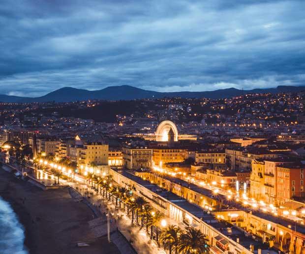 Promenade Des Anglais Nizza