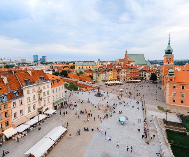dormire Centro Varsavia