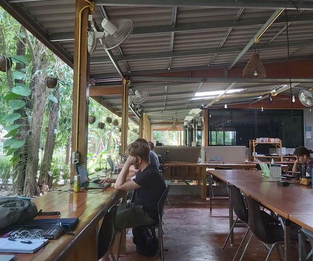 nomadi digitali Koh Lanta