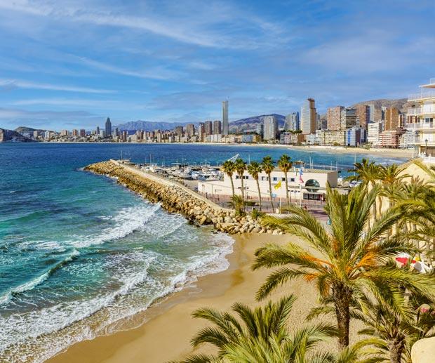 città Mare Spagna Benidorm