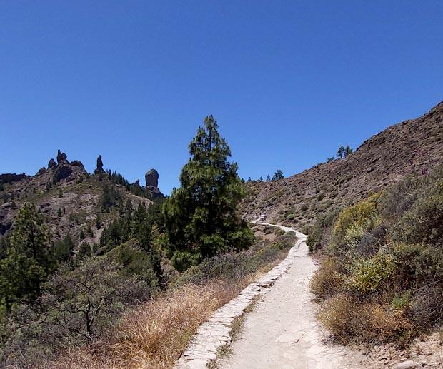 percorso rapido roque nublo